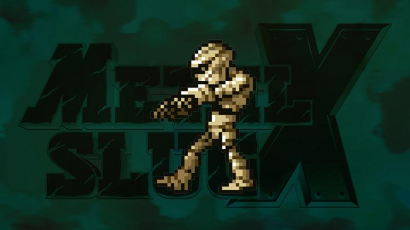 Mummia videogioco Metal Slug X