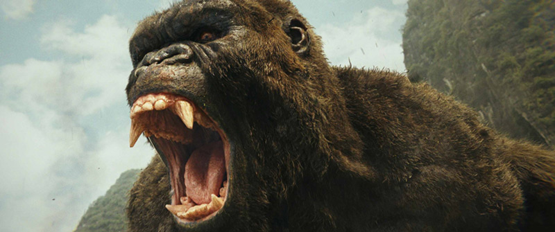 Kong Skull Island scena film