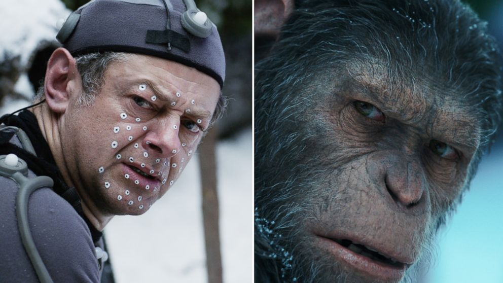 Cesare andy serkis motion capture