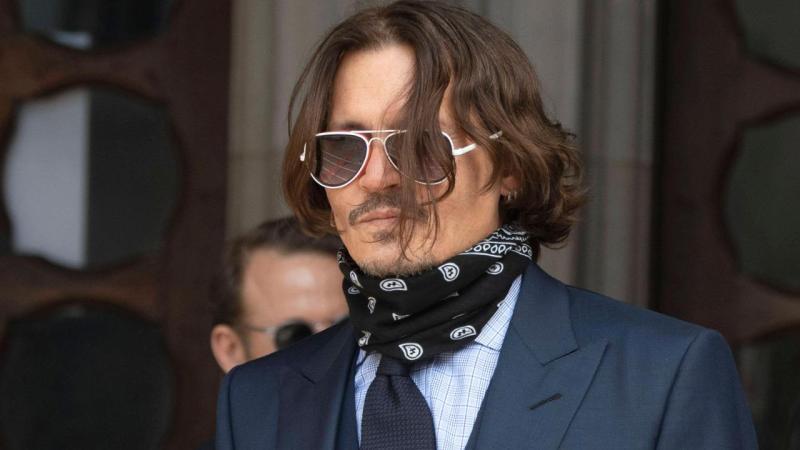 Johnny Depp foto dell'attore