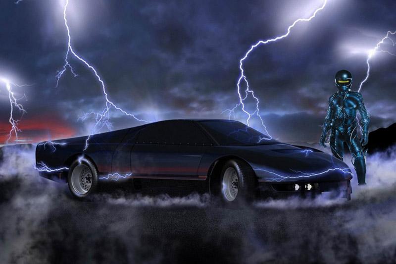 The Wraith replicante film