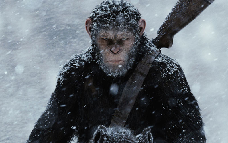 Cesare pianeta delle scimmie reeves