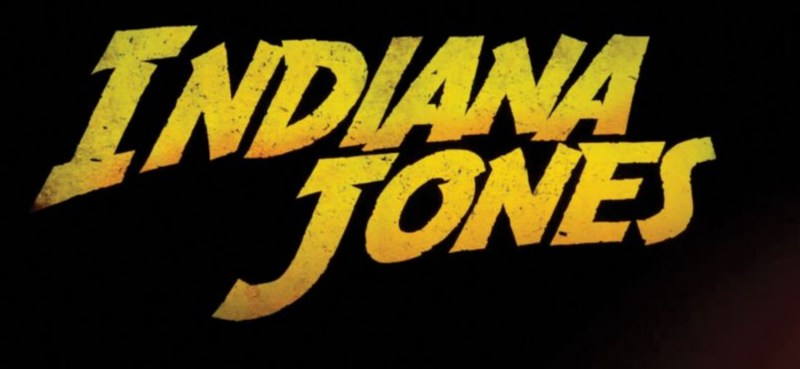 Indiana Jones logo del film Disney