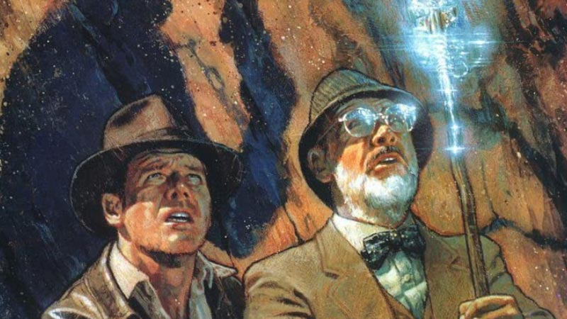 Fumetto Indiana Jones e la lancia del destino