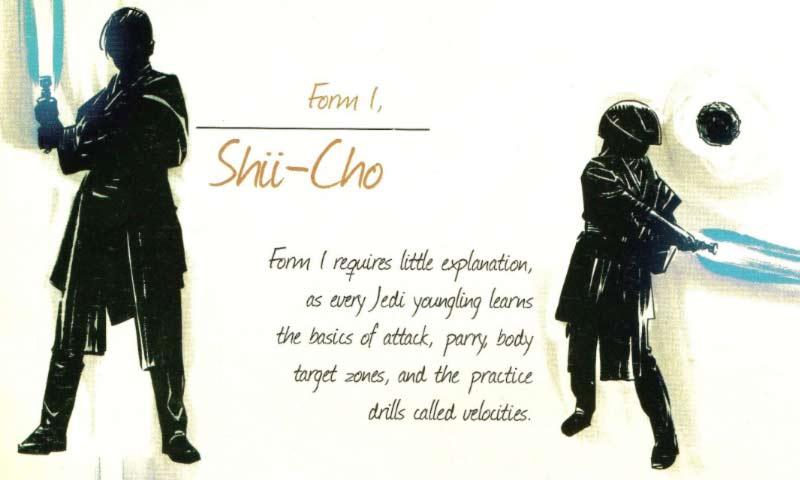 Shii-Cho tabella con spiegazione