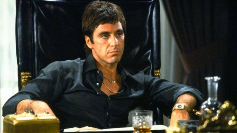 Al Pacino tony montana set di Aliens