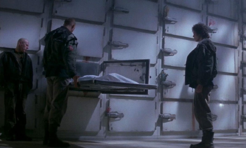 Alien 3 scena autopsia film