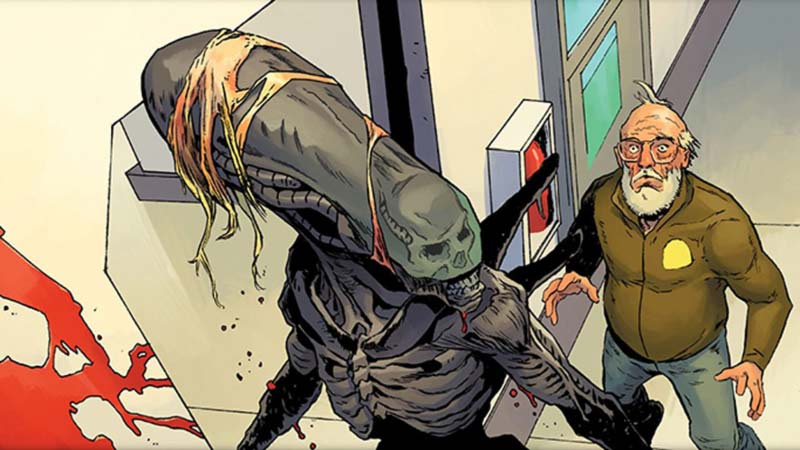 Alien 3 fumetto saldapress