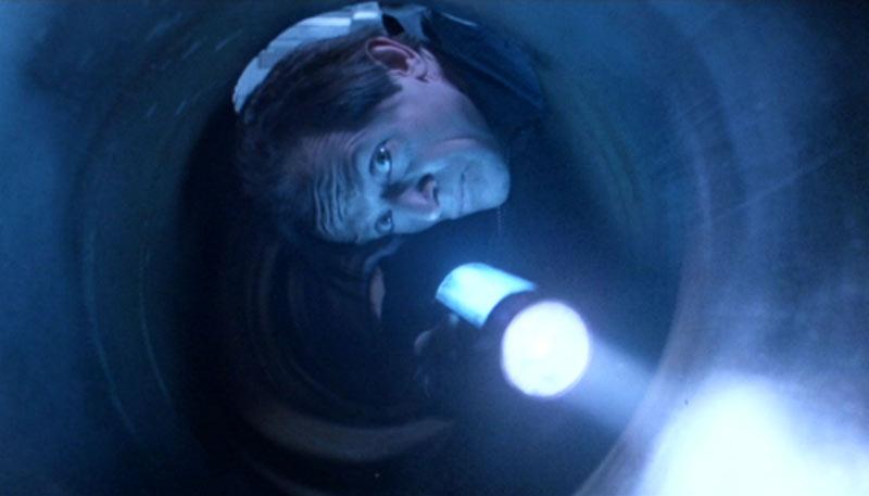Bishop tunnel Aliens scena