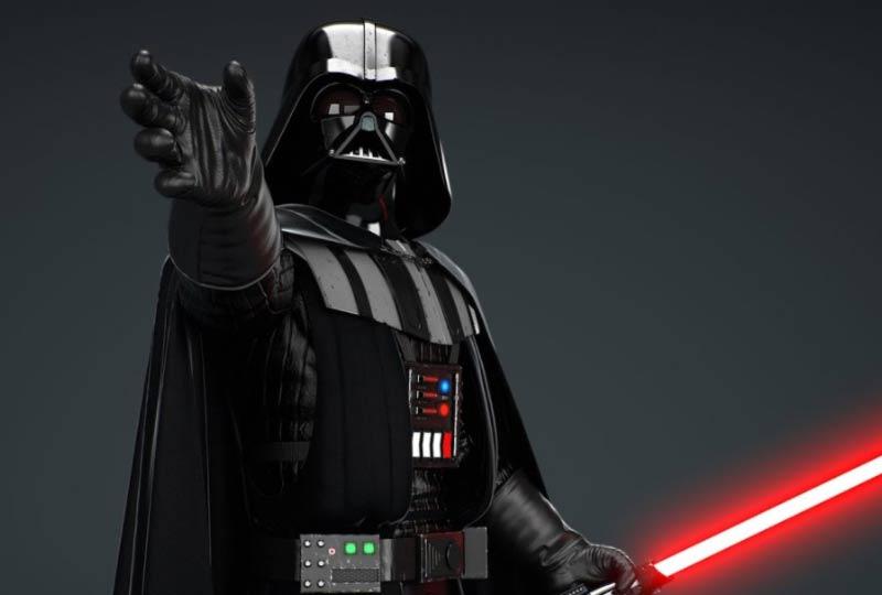 Darth Vader strangolamento