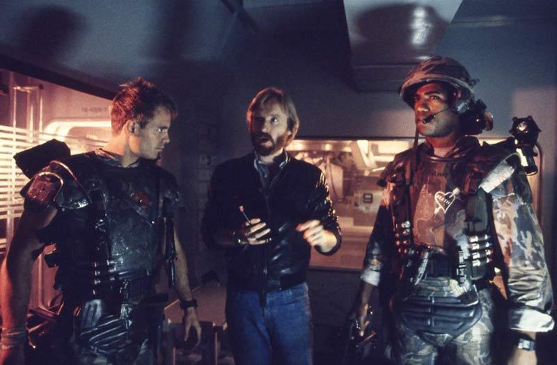 James Cameron dietro le quinte Aliens