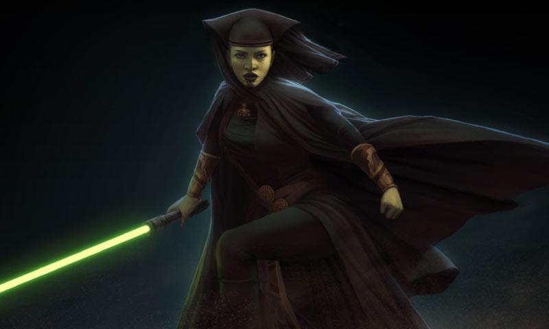 Star Wars Jedi Luminara Unduli