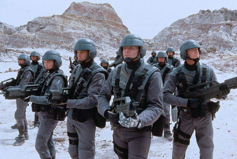 Starship Troopers fanteria dello spazio film