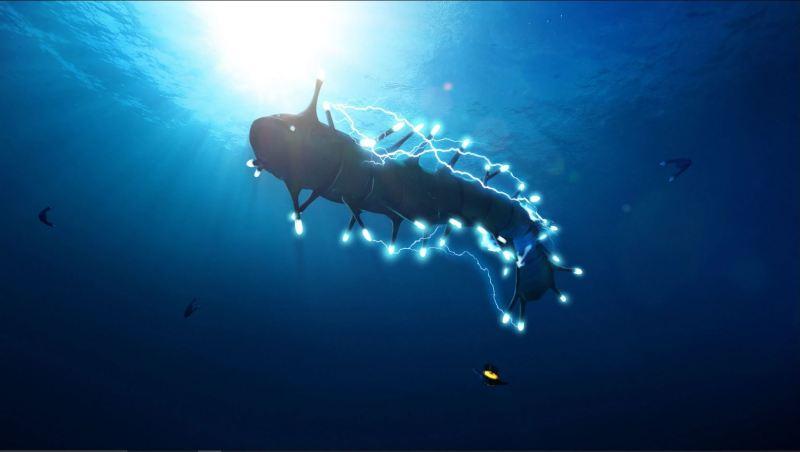 Ampeel creatura bestiario subnautica