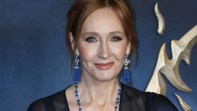 J. K. Rowling scrittrice foto