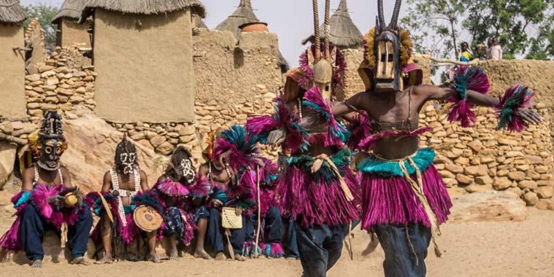 Maschere rito africa Mali