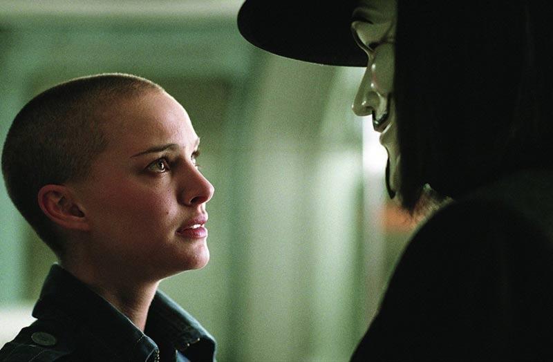 Natalie Portman film V per vendetta