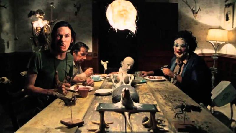 Texas Chainsaw Massacre cannibali