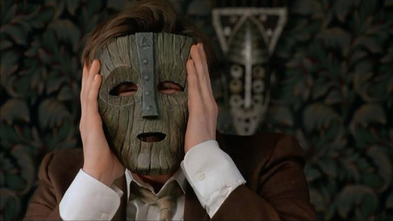 the mask maschera legno