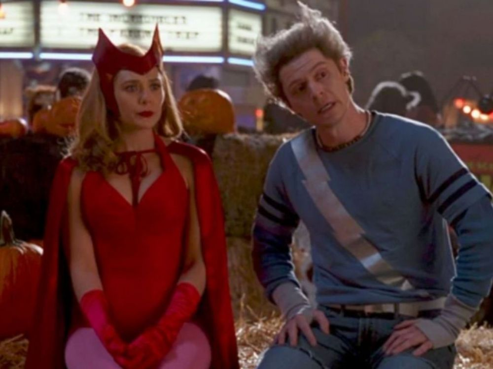 Wanda e Pietro in Wandavision