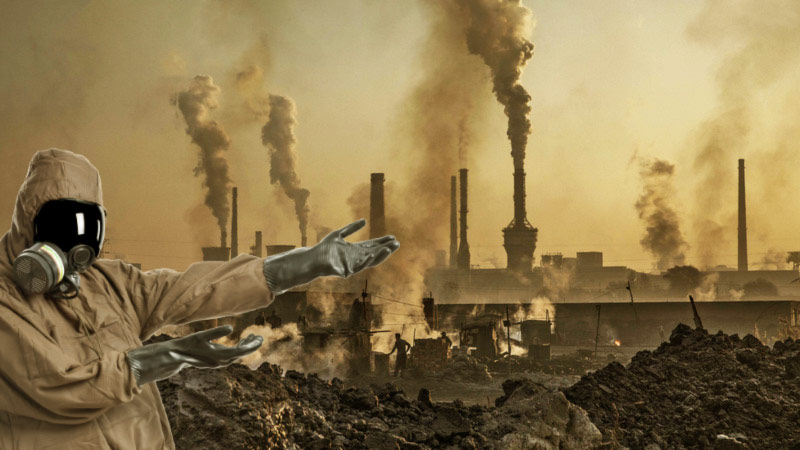Fabbriche terra inquinata