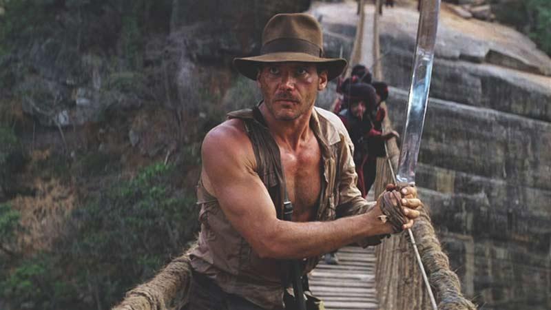 Indiana Jones tempio maledetto scena ponte