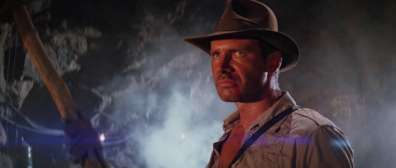 Indiana Jones primo piano