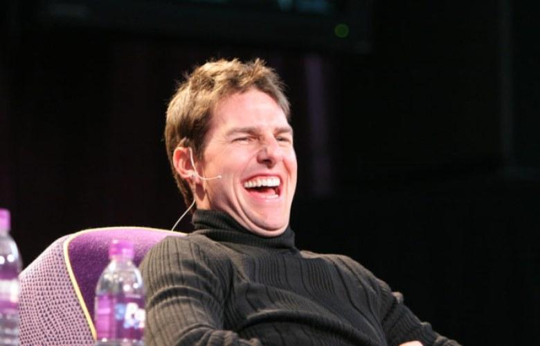 Tom Cruise risata