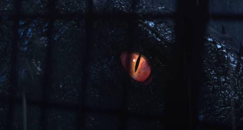 occhio dinosauro ibrido camp cretaceous
