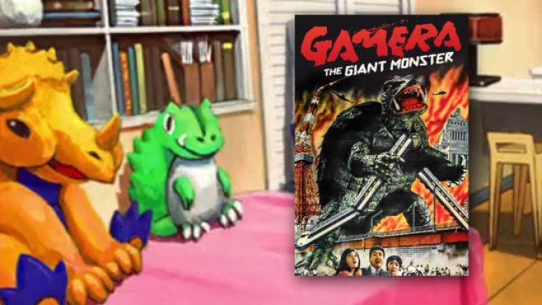 gamera giant monster singular point