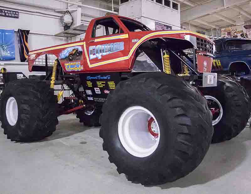 Current Displays 187 International Monster Truck Museum
