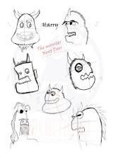 Demon Harry | First Sketch . Behrooz Zandi Tavasol