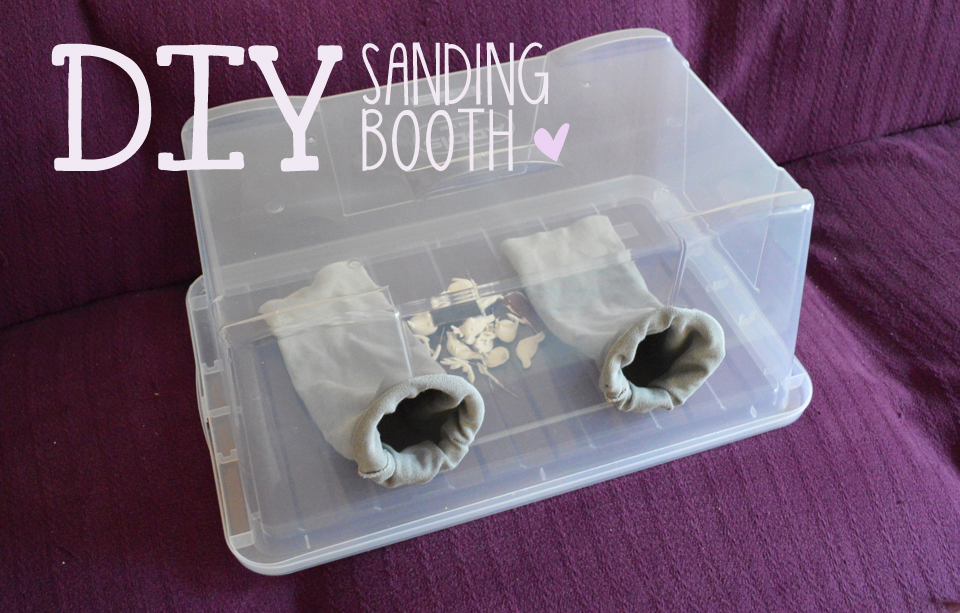Sanding booth tutorial