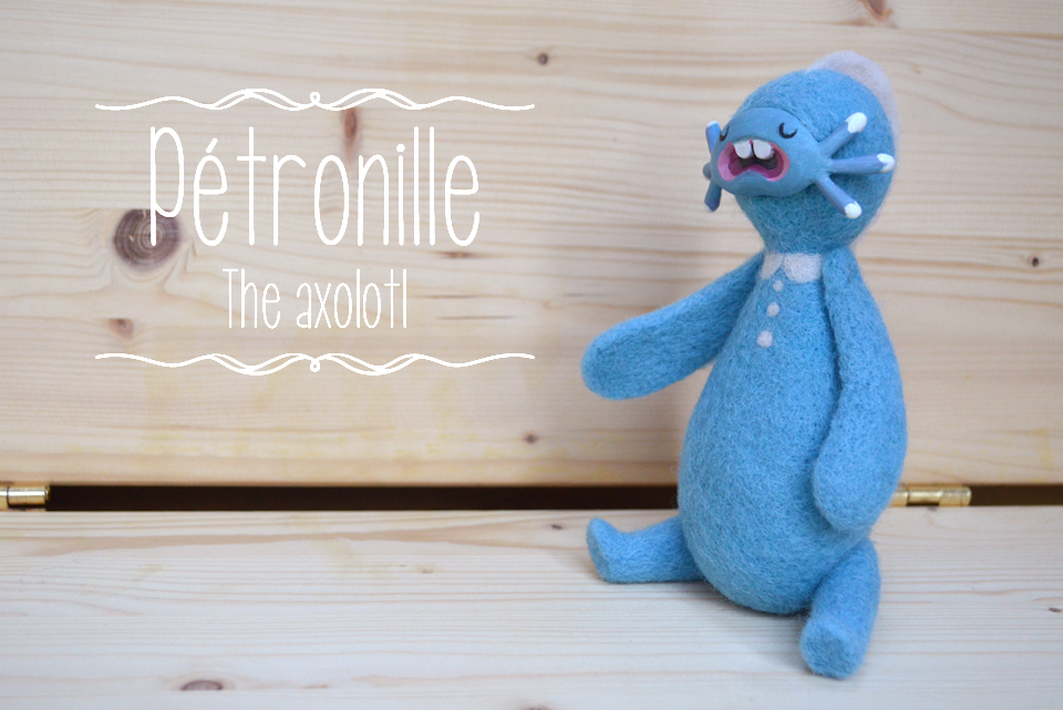 Blue Pétronille for adoption!