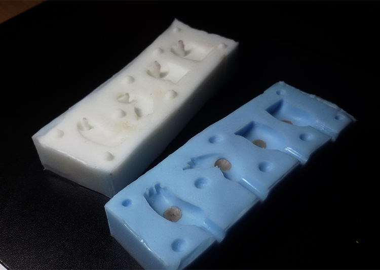Monster Pie Toys - Making silicone molds