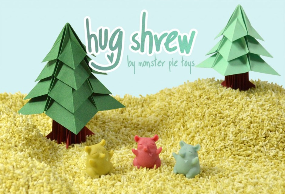 Monster Pie Toys - Hug Shrew diorama