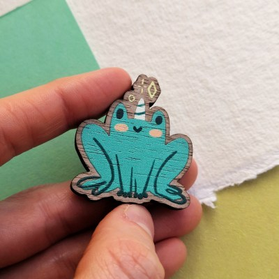 Froggicorn Pin