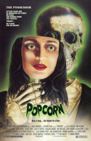 Popcorn 1991 movie poster