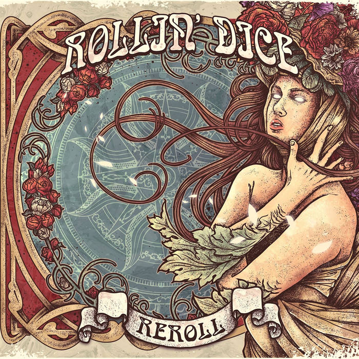 """Reroll"" Album Cover by Rollin' Dice"