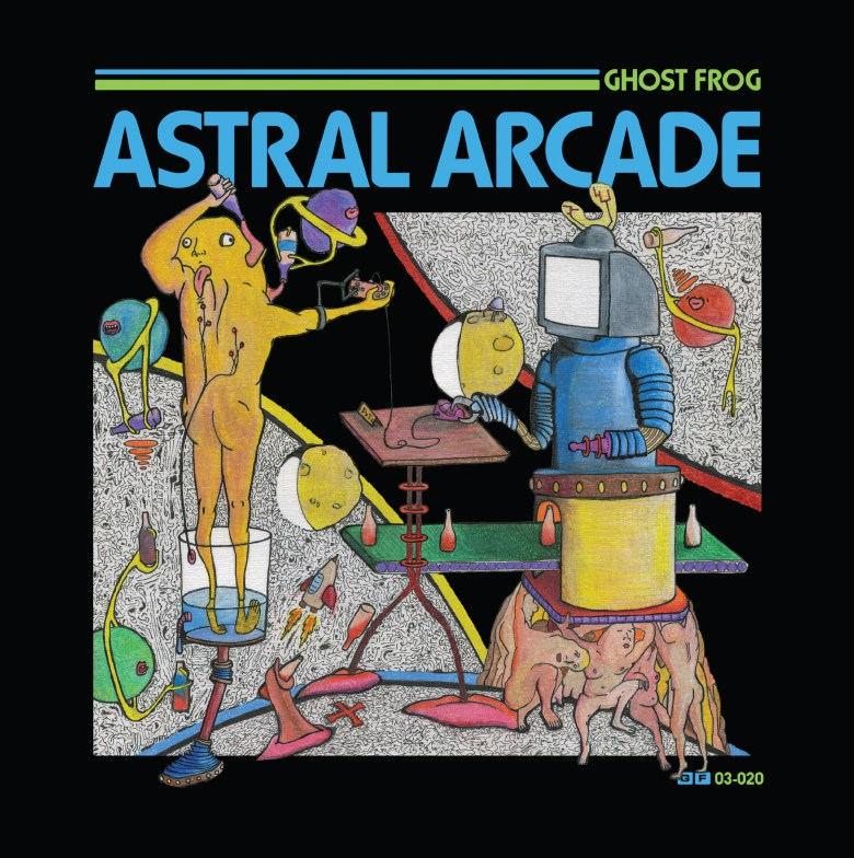 Astral Arcade Album Cover