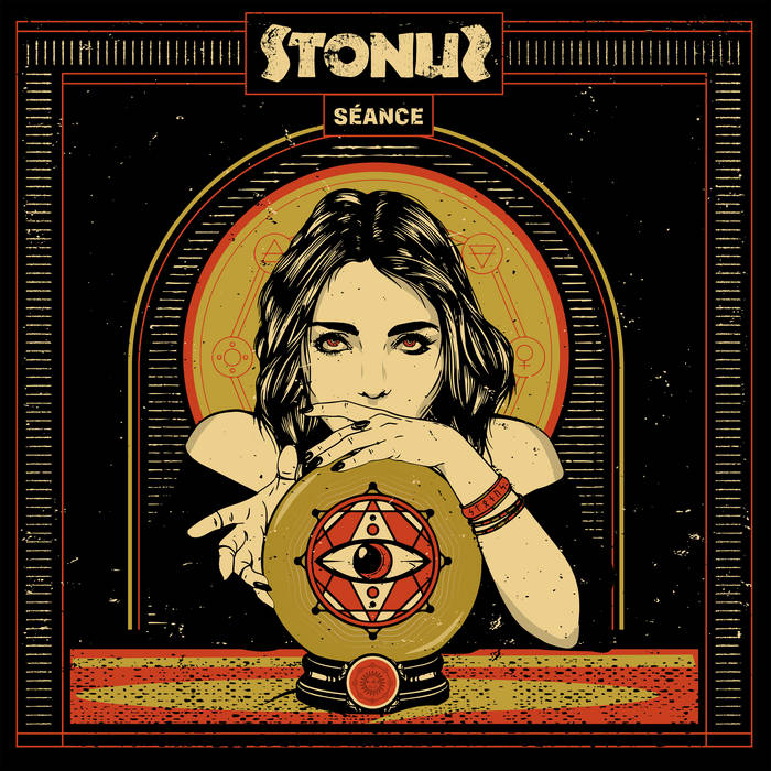 Stonus Album Cover for Séance