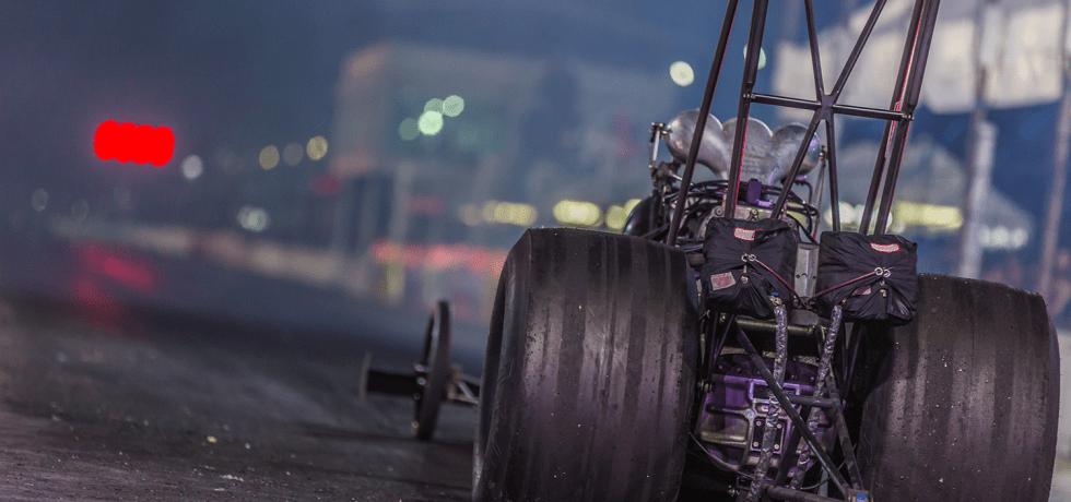 Fu Manchu and Race Cars