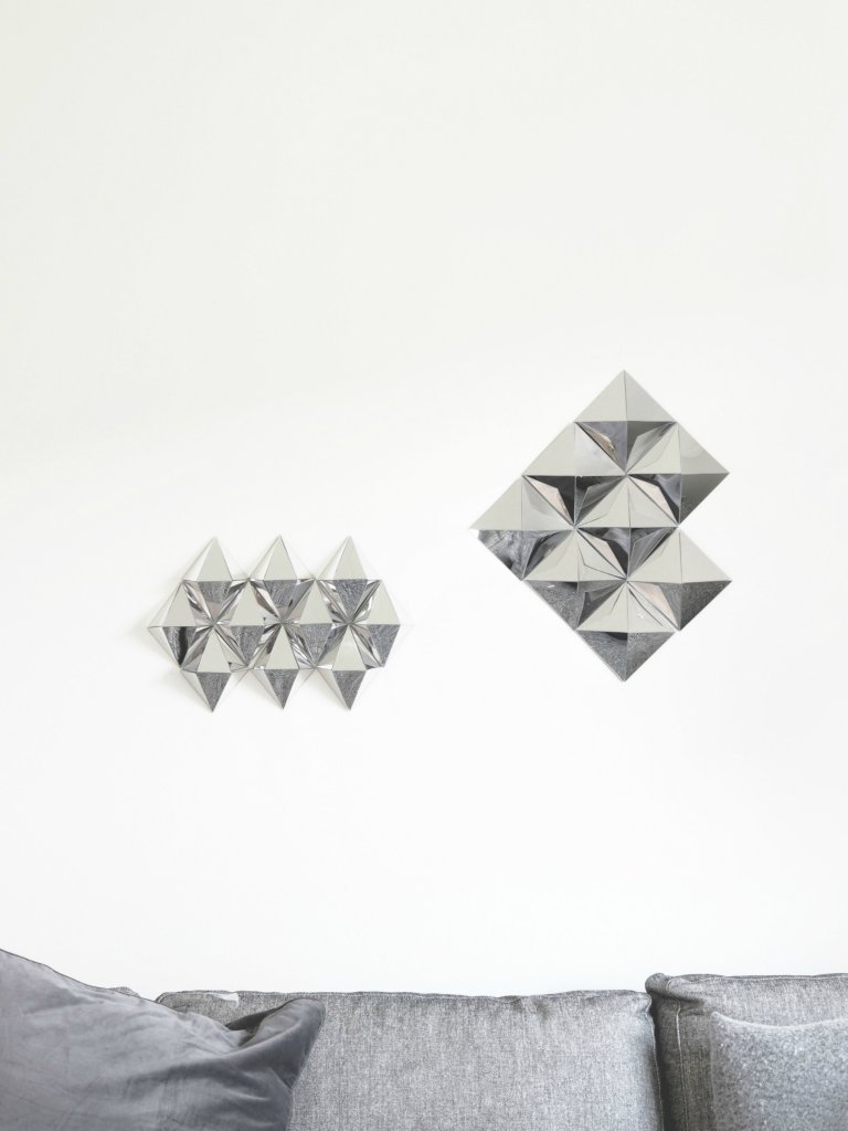 3d Wall Art For Contemporary Homes: Diamond Wall Art
