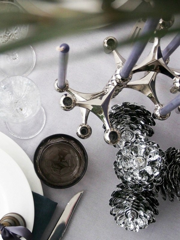 DIY New Year's Eve Table Setting