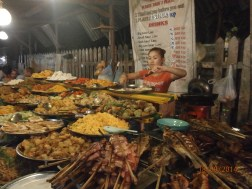 We had the Eat-All-You-Can buffet in LP night market.