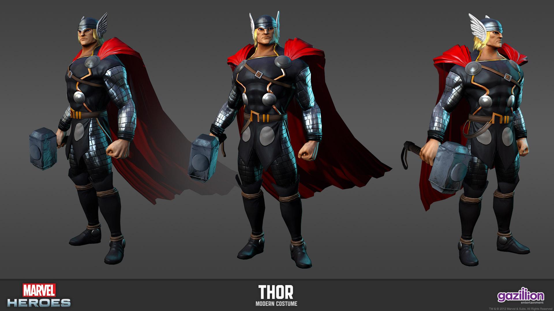 Marvel Heroes Drowns Us In Screenshots