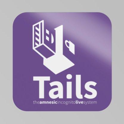 Adesivo Tails OS