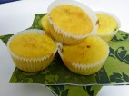 Magdalenas de limón ecológico.