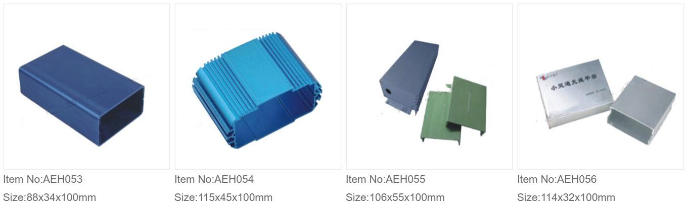 Aluminium Ekstruderede Kasser 6
