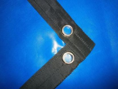Bisonyl afdekzeil blauw